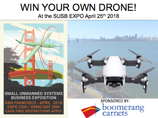 Boomerang Carnets Drone Giveaway